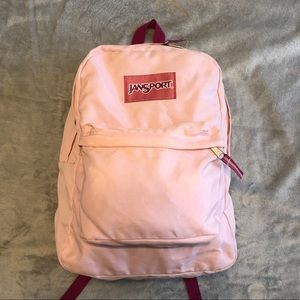 Two Tone Pink Jansport Backpack